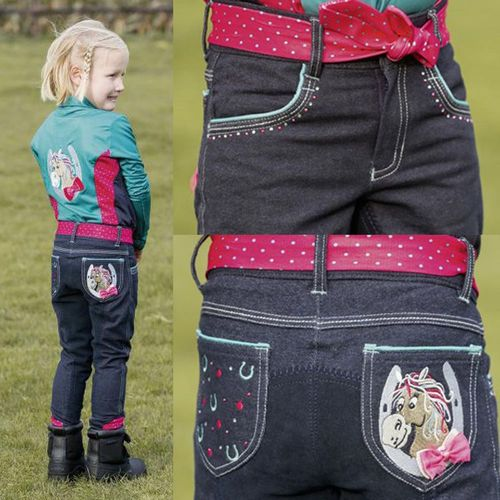 BUSSE Jeansreithose Kids Collection 3 Gr. 116